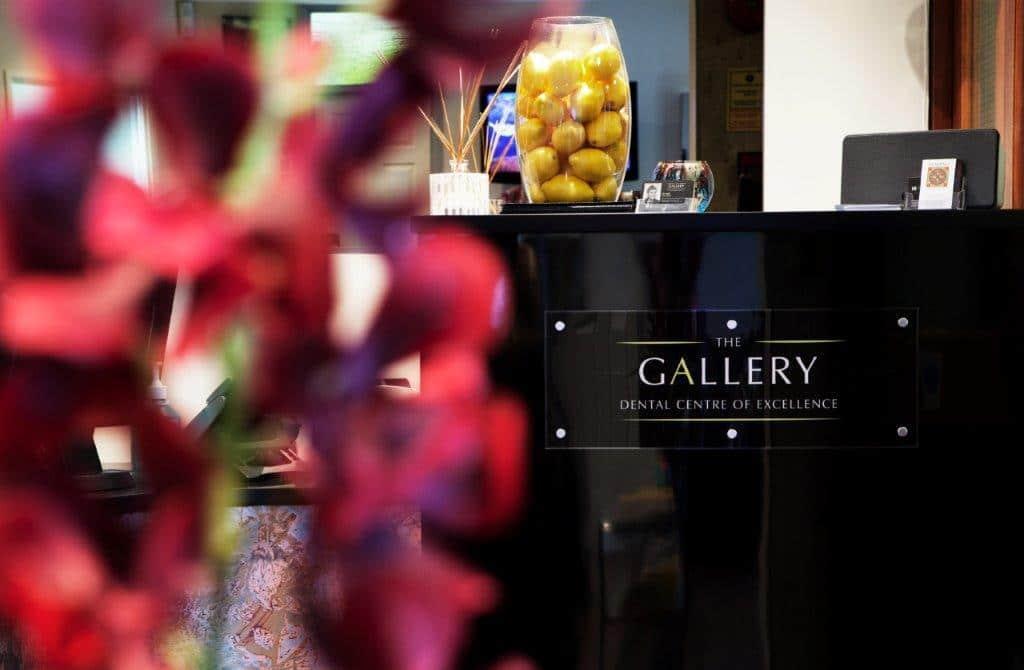 The Gallery reception desk